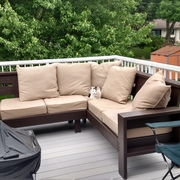 Custom Outdoor Sectional Couch